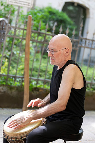 Yogas trommelt